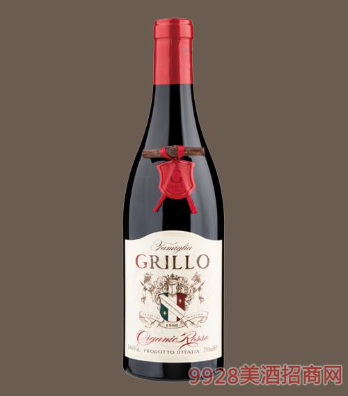 意大利格麗洛有機干紅葡萄酒