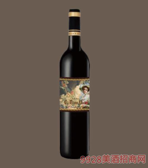 法国凝妃干红葡萄酒