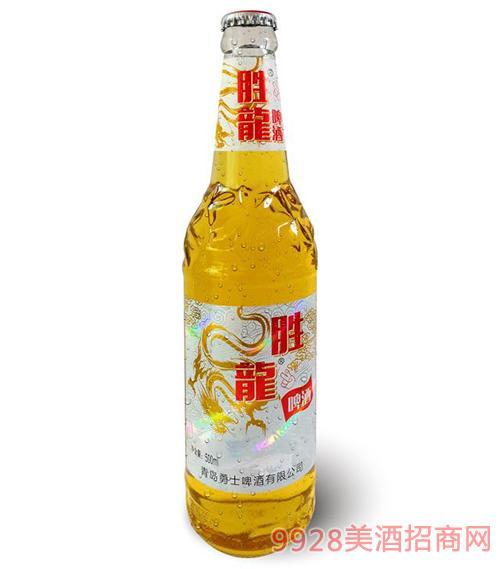 瓶装500ml胜龍啤酒
