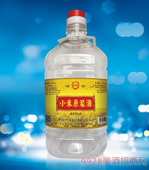 小米原漿酒桶裝酒4L