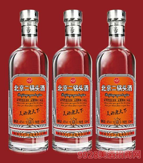 京今记北京二锅头酒(橙标)42度500ml