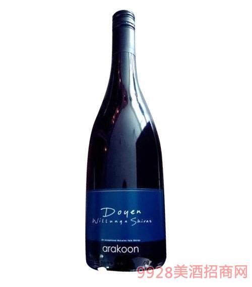 澳洲威伦加教父珍藏西拉子红葡萄酒2013