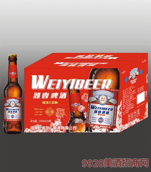 潍坊啤酒-潍壹啤酒330mlx24