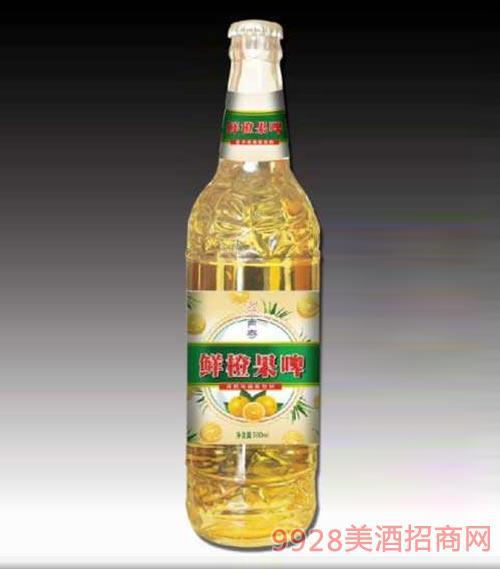 鲜橙果啤330ml