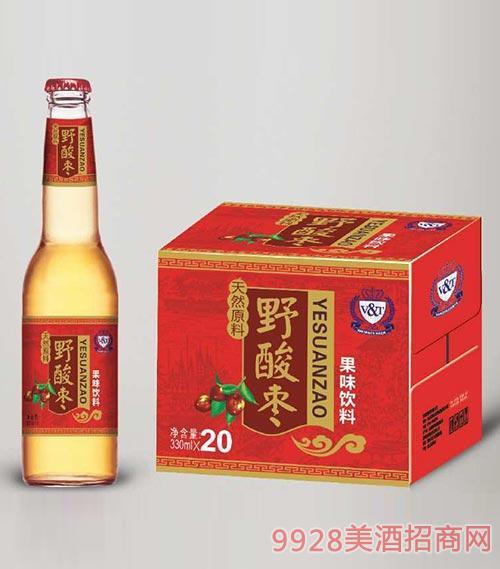 野酸枣果味饮料330mlx20