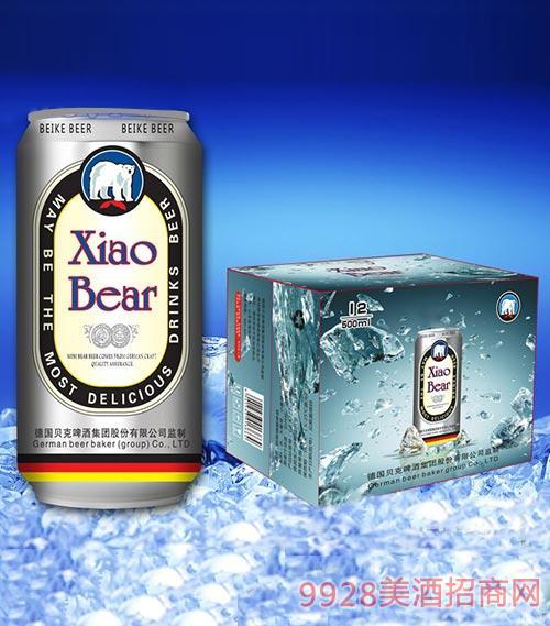 贝克啤酒罐装500mlx12