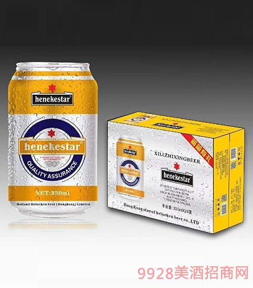 罐装啤酒33mlx24罐