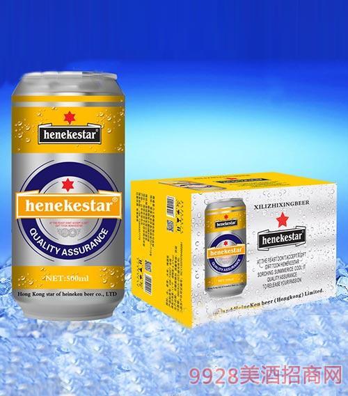 罐装啤酒500mlx12罐