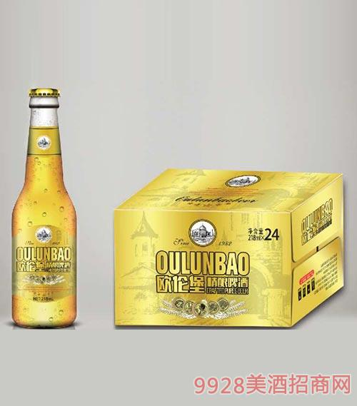 �W��堡精�啤酒218mlx24