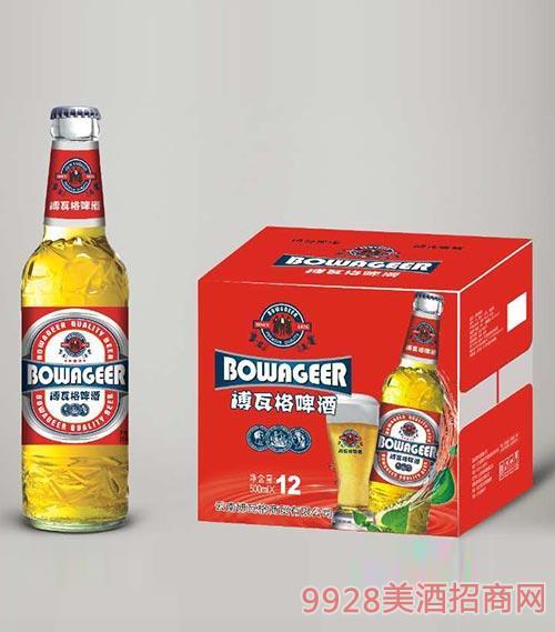 博瓦特啤酒红标500mlx12