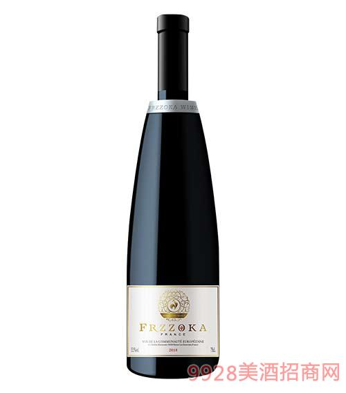 法兰风情乐享干红葡萄酒