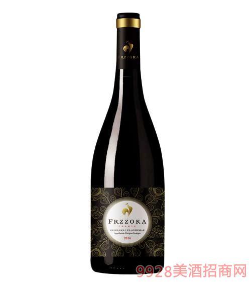 法兰风情夜曲干红葡萄酒