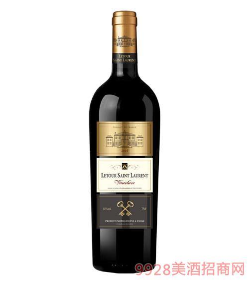 拉图圣奥伦副牌干红葡萄酒14度750ml
