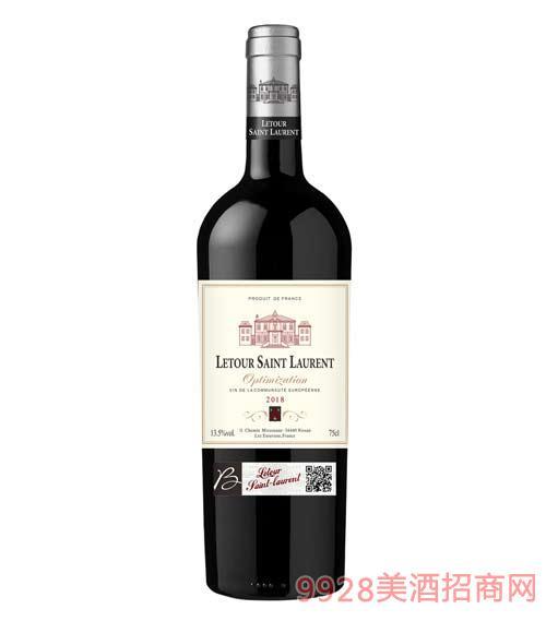 拉图圣奥伦优选干红葡萄酒13.5度750ml