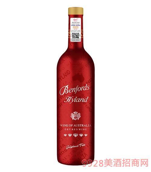 奔富海蘭酒莊BN138家族干紅葡萄酒紅鉆