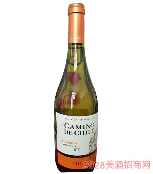 智利嘉米诺霞多丽干白葡萄酒