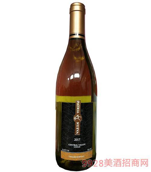 智利帕杰尼霞多麗干白葡萄酒