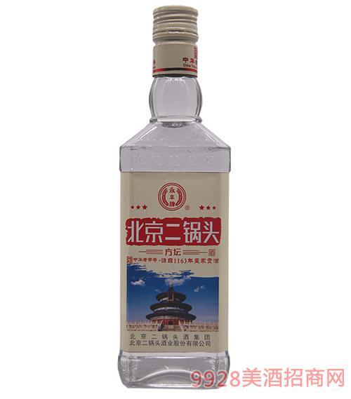 北京二锅头(红)方坛酒
