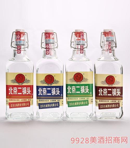 古域北京二锅头酒组合装500mlx4