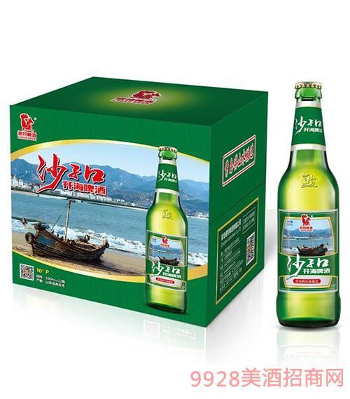 崂特沙子口开海啤酒500ml