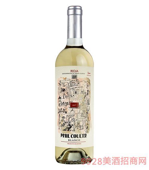 西班牙菲库尔特精选干白葡萄酒13度750ml