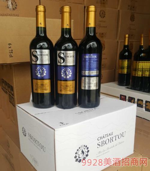法國LG~靚美藍干紅葡萄酒