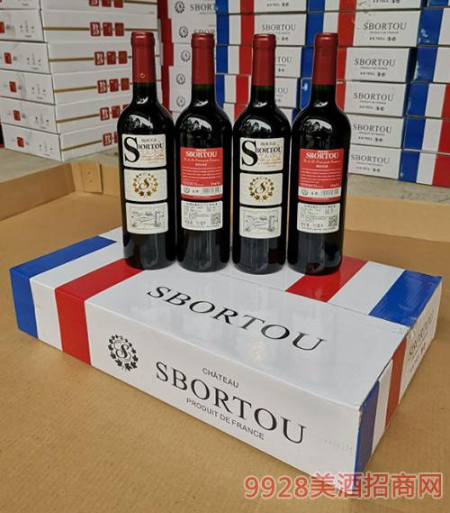 法国LG~靓彩红干红葡萄酒