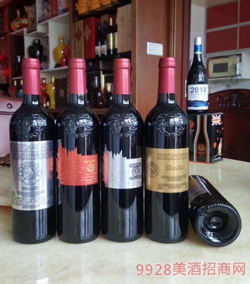 法国LG~斯博图金标/银标/银叶/红叶葡萄酒