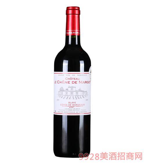 玛歌橡树城堡红葡萄酒13.5度750ml