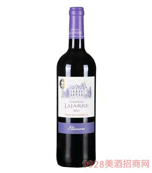 拉吉瑞城堡红葡萄酒14度750ml