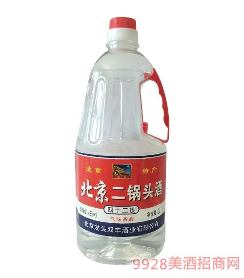 北京二��^酒42度2L