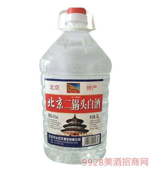北京二��^酒56度5L