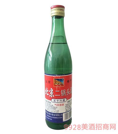 北京二��^酒56度500ml�G瓶
