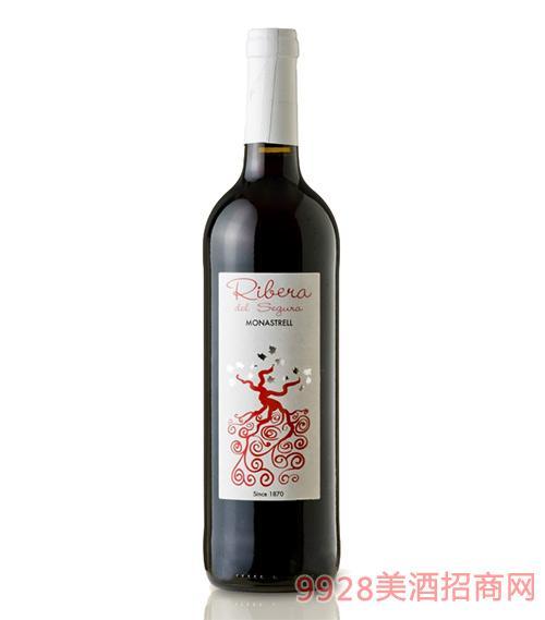 瑟古拉河岸干红葡萄酒13度750ml