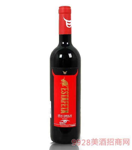 牛盾红标干红葡萄酒13.5度750ml