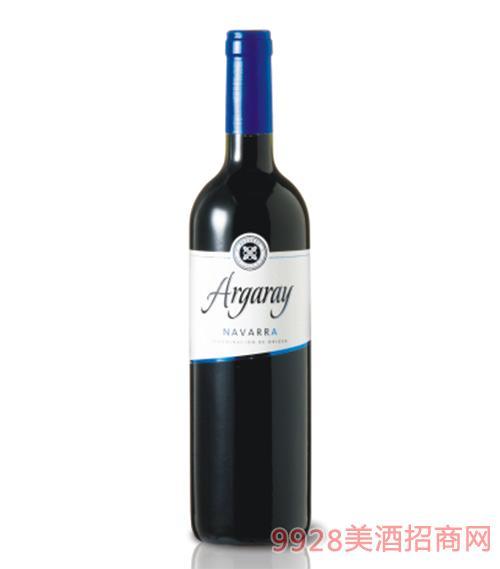 奔牛节蓝牌葡萄酒13度750ml