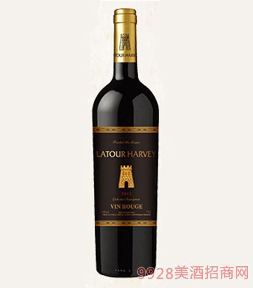 拉�D哈�S2013干�t葡萄酒