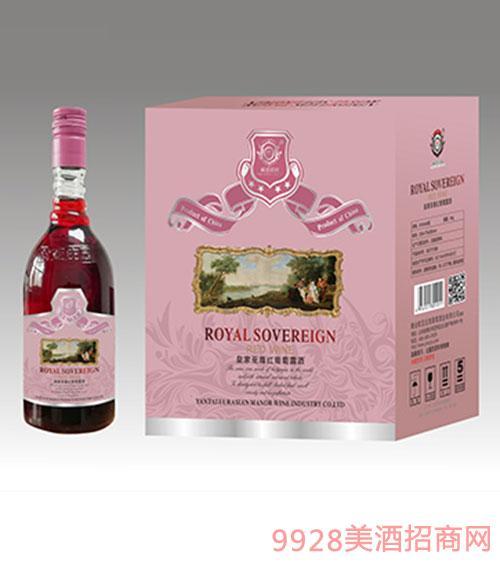 红葡萄露酒