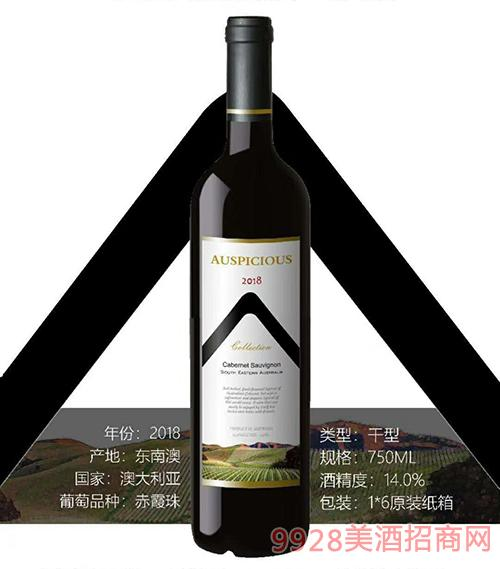 澳葡诗精选赤霞珠红葡萄酒