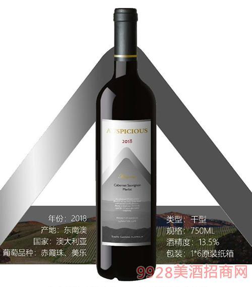 澳葡诗珍藏赤霞珠美乐红葡萄酒