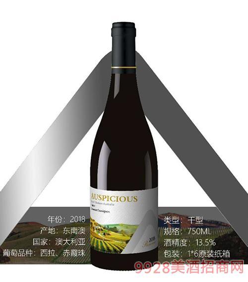 澳葡诗珍藏西拉赤霞珠红葡萄酒