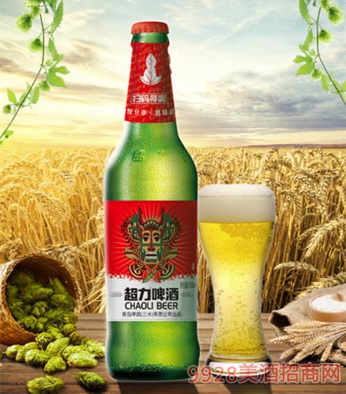 超力啤酒600ml�P古版