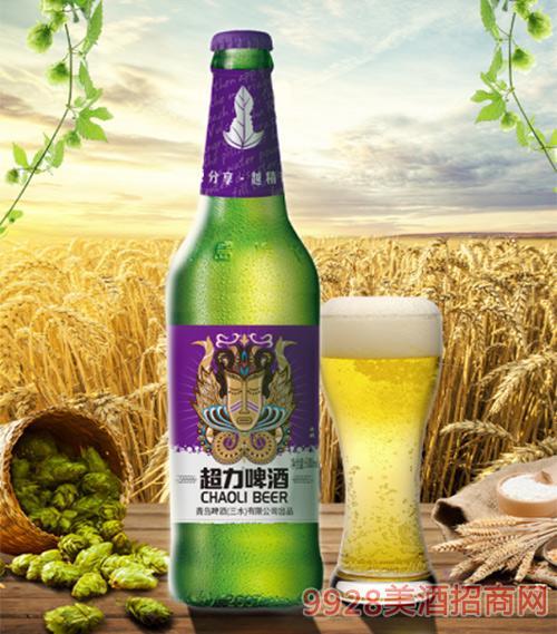 超力啤酒600ml女�z版