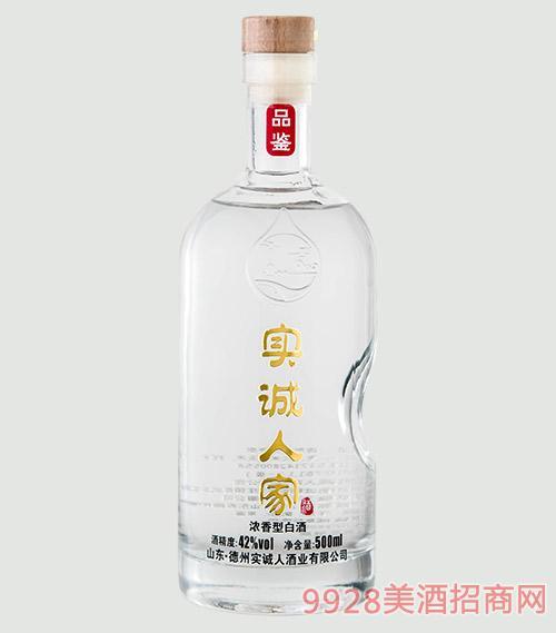 实诚人家酒-品鉴42度500mlx6