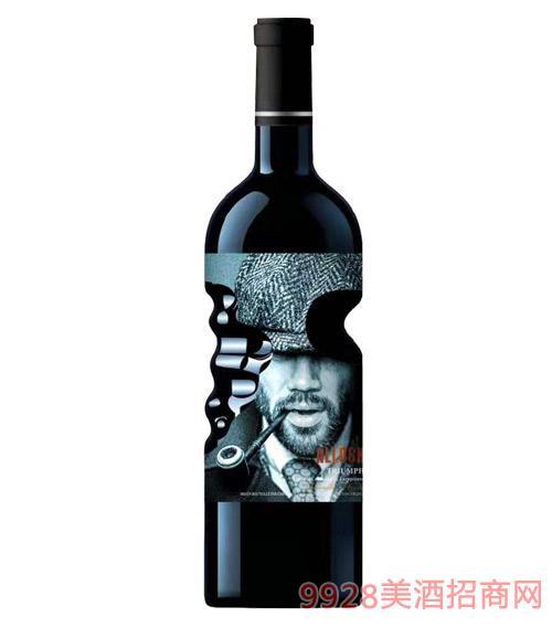 阿洛克酒�f・�P旋干�t葡萄酒750ml