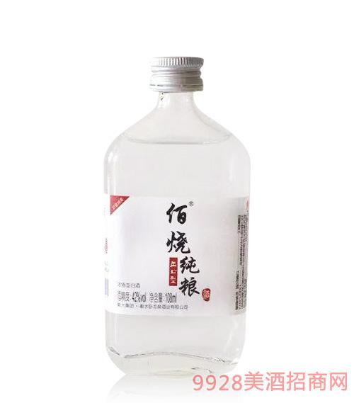 佰烧纯粮酒42度108ml