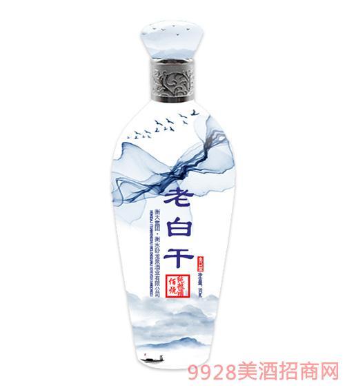 老白干佰烧纯粮酒出口型500ml