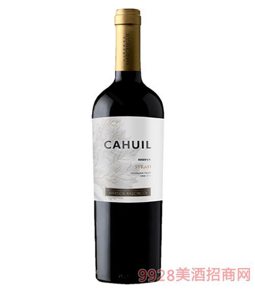 奧金斯珍藏西拉干紅葡萄酒