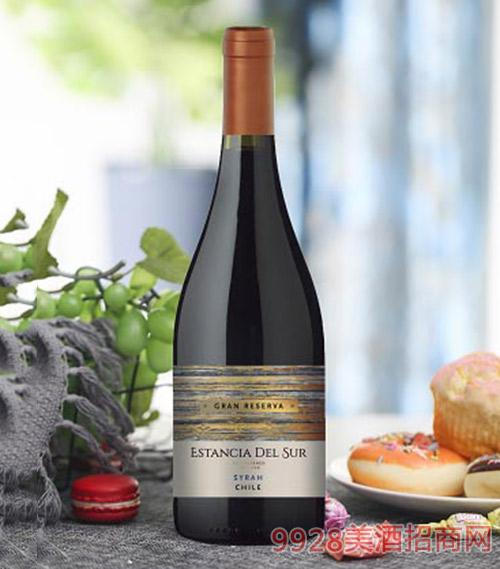 圣美斯特級珍藏西拉干紅葡萄酒750ml