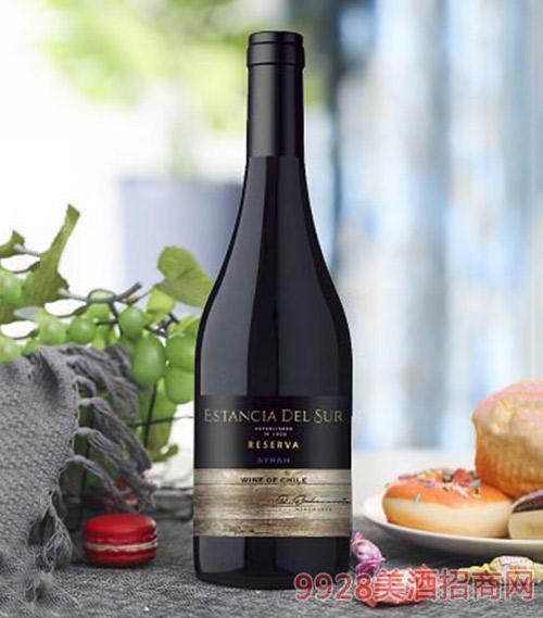圣美斯珍藏西拉干红葡萄酒750ml